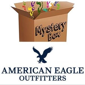 🔥MYSTERY BOX (3)AMERICAN EAGLE JEANS SIZE 2🔥